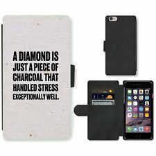 Phone Card Slot PU Leather Wallet Case For Apple iPhone 207 diamond charcoal whi