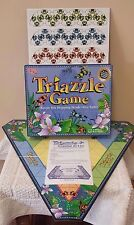 Family Game Triazzle Board Game 1998 University Games Ages  8+