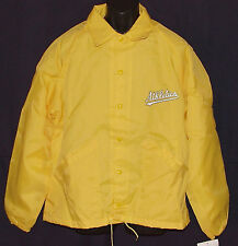 Vintage 90's Oakland A'S Windbreaker JACKET Swingster LINED NWT New Old Stock LG
