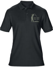 Embroidered Personalised Mens Golf Polo, FREE Golf Towel 8 Colours T-Shirt by sw
