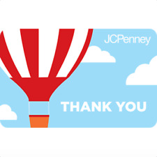 JCPenney Gift Card Thank You Hot Air Balloon $25 $50 or $100 - Email delivery