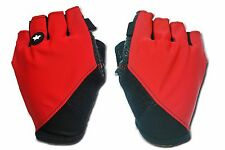 ASSOS SUMMER GLOVES_S7 Red / Black Cycling Finger Protection sizes: S,M,L,XL