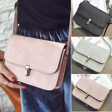 vintage Casual Leather classic Shoulder Messenger Crossbody Bags Satchel Handbag