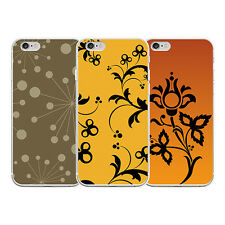 FLORAL PRINT PHONE CASE COVER FOR IPHONE 6 6S 7 PLUS SAMSUNG GALAXY S6 USEFUL
