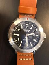 Filson Scout Watch Shinola Argonite Natural Leather Authentic Brand New In Box