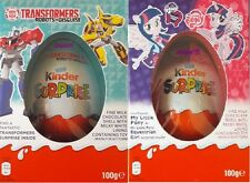 Kinder Surprise Eggs 100g Limited Edition Girls & Boys + Maxi Toy UK 2017