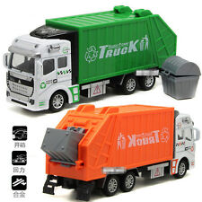 CITY VEHICLE Garbage Truck Light Toy Car Learning Toy Preschool Pretend Play IB