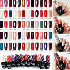 52Color Real Gel Color Collection Top Coat & Base Coat Gelcolor Gel Polish 15ml