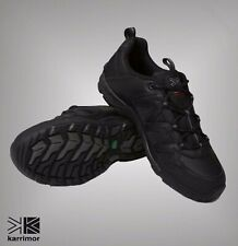 Mens Branded Karrimor Summit Leather Walking Lace Up Shoes Size 7-15