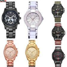 Military Date Analog Sport Army Watch Mens Stainless Steel Quartz Wrist Watches