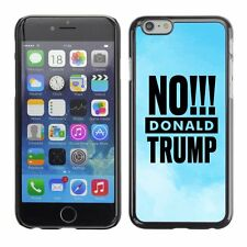 Hard Phone Case Cover Skin For Apple iPhone 63 BAN Donald Trump light blue cloud