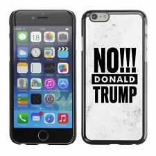 Hard Phone Case Cover Skin For Apple iPhone 241 BAN Donald Trump white marble st