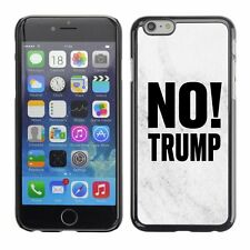 Hard Phone Case Cover Skin For Apple iPhone 107 BAN Trump marble white black