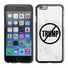 Hard Phone Case Cover Skin For Apple iPhone 240 never trump white marble