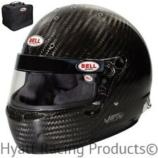 Bell HP5 Touring Carbon Auto Racing Helmet - Snell SA2015 & FIA8860 (Free Bag)