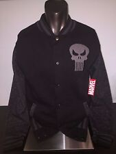 THE PUNISHER movie COMIC Book art track LETTERMAN Jacket MEN'S New Sweat SHIRT