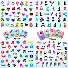 Nail Art Water Transfer Stickers 3D Design Decals Manicure Tips Decorations New