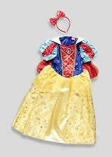 Girls Snow White Fancy Dress Costume Outfit Child Fairy Princess 4-5 6-7 8-9yrs