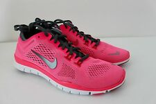 Nike Free 5.0 Tr Fit 4t Women's Running Pink Gray Sneaker Shoe 629496 600 New 9