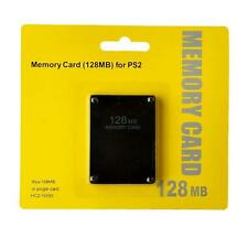 128MB128 MB/64MB 64 MB Memory Save Card For PlayStation 2 PS2 Console Game