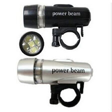 Bike Bicycle 5 LED Power Beam Front Head Light Headlight Torch  Lamp