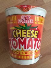 """Nissin, Cup Noodle, """"Cheese Tomato, Creamy Tomato Noodle"""", 1 Cup 78g, Japan. S2"""