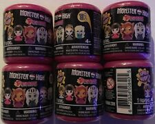 New Monster High Fash'ems Series 1 Lot of 6 Mystery Figures *Mint* Hot!!! Rare!!