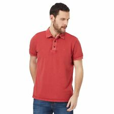 Rjr.John Rocha Mens Red Pique Polo Shirt From Debenhams