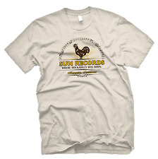 SUN RECORDS OFFICIALLY LICENSED ROCKABILLY TEE - BEIGE NWT