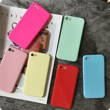 Trendy Simple Candy Jelly Soft Silicone TPU Case Cover for iPhone 7 7 Plus 6 6S