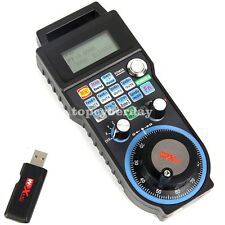 CNC MACH3 Wireless Electronic Handwheel 4/6Axis Manual Controller USB Handle MPG