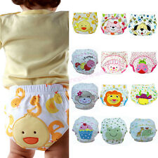 Cute Baby Boy Girl Training Pee Potty Cloth Diaper Nappy Infant Underwear Pants