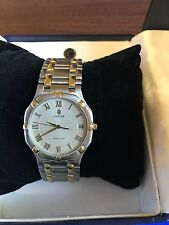 Concord Saratoga Mens Stainless Steel & 18k Gold Watch