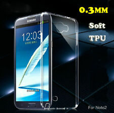 Ultra Thin Soft Clear Gel Skin TPU Silicone Back Case Cover for Samsung Galaxy