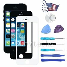 Front Outer Screen Glass Lens Replacement For Apple iPhone 5 Repair Tools Kit