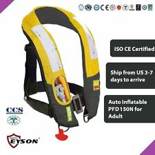 PFD Automatic Inflatable Life Jacket Vest 150N Eyson Neck Type for Adult