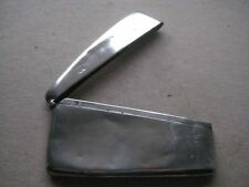 Solid Silver Curved Card Case, Chester 1915