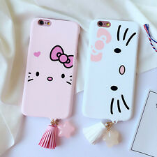 Cute Cartoon Cat Hard Back Case Cover Skin For iPhone 7/7 plus/6/6plus Plastic