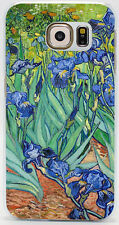 Irises Vincent Van Gogh Oil Painting Hard Case Cover Skin For All Phone Models