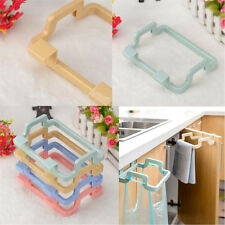 Portable Kitchen Trash Bag Holder Cabinets Cloth Rack Towel Storage Holder