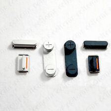 Side Button Power Button+Mute Switch Key On/off+Volume Key Set for iPhone 5 5G