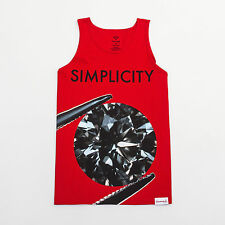 Diamond Supply Co. Simplicity II Tank - Red - Men's Tank Top
