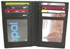RFID Security Lined Leather Wallet Quality Full Grain Cow Hide Leather. No.11008