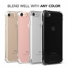For Apple iPhone 7 Slim Soft TPU Bumper Shockproof Protector Crystal Clear Case
