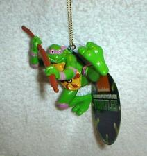 TEENAGE MUTANT NINJA TURTLES Retro Throwback tmnt  Donatello CHRISTMAS ORNAMENT