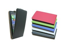 Pouch Flip Case Skin Protection Accessories PU Leather For Nokia Lumia 735 @