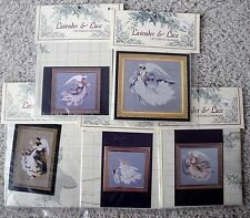 Choice Lavender Lace Cross Stitch Charts Angel: Mercy Grace Summer