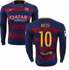 FC BARCELONA LIONEL MESSI LONG SLEEVE HOME JERSEY