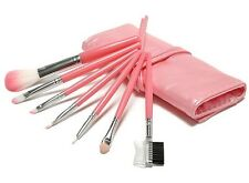 Professional 7 pcs Makeup Brush Set Tools Make-up Toiletry Kit Wool Brand