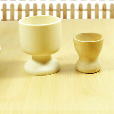 New 1Pc Wooden Easter Egg Cups Tray Holders Ball Stand Display Home Decor